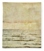 Ocean Scene Fleece Blanket