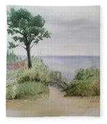 Ocean Scene Fleece Blanket