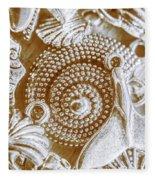 Ocean Sea Abstract Fleece Blanket