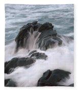 Ocean Sent Fleece Blanket