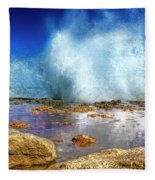 Ocean Spray Fleece Blanket