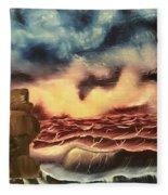 Ocean Storm Fleece Blanket