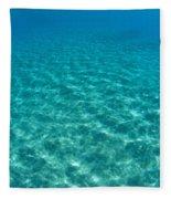 Ocean Surface Reflections Fleece Blanket