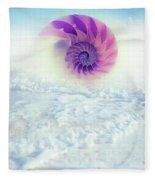Ocean To Infinity Fleece Blanket