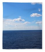 Ocean Tranquility  Fleece Blanket
