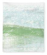Ocean Wave 13 Fleece Blanket