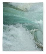 Ocean Wave 4 Fleece Blanket