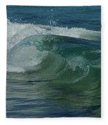 Ocean Wave 5 Fleece Blanket