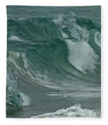 Ocean Waves 2 Fleece Blanket