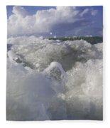 Ocean Waves Comin' At You Fleece Blanket