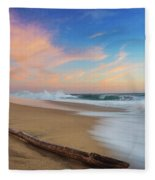Oceano Pacifico Fleece Blanket