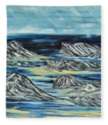 Oceans Of Worlds Fleece Blanket