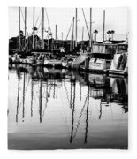 Oceanside Harbor Fleece Blanket