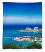 Ocho Rios Fleece Blanket