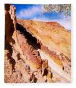 Ochre Pits #3 - West Mcdonald Ranges Fleece Blanket