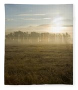 October Atmosphere Fleece Blanket
