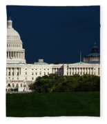 October Capitol Fleece Blanket