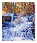 October Falls Fleece Blanket
