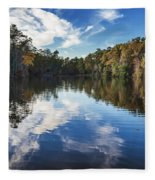 October Reflections Fleece Blanket