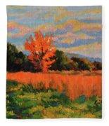 October Sky Fleece Blanket