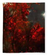 October Sky Fleece Blanket
