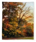 October Trail Fleece Blanket