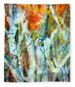 October Woods Fleece Blanket