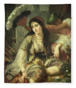 Odalisque Fleece Blanket