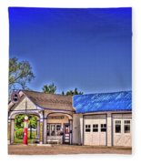 Odell Station 1 Fleece Blanket