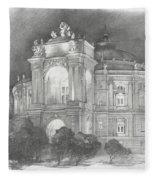 Odessa Theater  Fleece Blanket