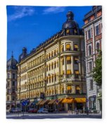Odion Hotel Fleece Blanket