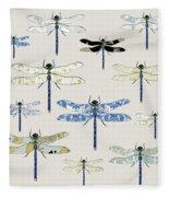 Odonata Fleece Blanket