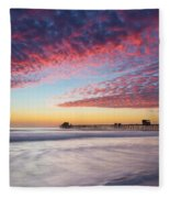 Of Milk Shakes And Cotton Candy Fleece Blanket