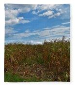 Of The Corn  Fleece Blanket