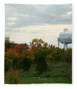 Off The Green-golf Course Fleece Blanket