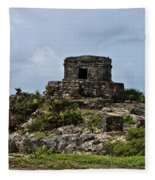 Offertories Telum Ruins Mexico Fleece Blanket