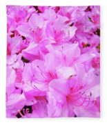 Office Art Azalea Flowers Botanical 31 Azaleas Giclee Art Prints Baslee Troutman Fleece Blanket