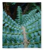 Office Art Forest Ferns Green Fern Giclee Prints Baslee Troutman Fleece Blanket