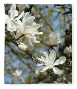 Office Art Prints Magnolia Tree Flowers Landscape 15 Giclee Prints Baslee Troutman Fleece Blanket