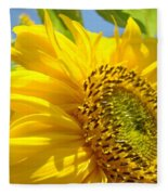 Office Art Sunflowers Giclee Art Prints Sun Flowers Baslee Troutman Fleece Blanket
