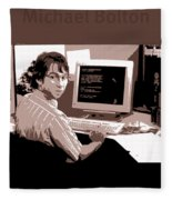 Office Space Michael Bolton Movie Quote Poster Series 004 Fleece Blanket