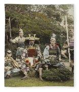 Ogawa, Kazumasa Sights And Scenes In Fair Japan. Fleece Blanket