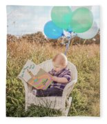 Oh The Places You'll Go Fleece Blanket