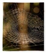 Oh What Tangled Webs.... Fleece Blanket