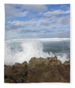 Ohau Splash Fleece Blanket