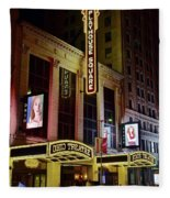Ohio And State Theaters Fleece Blanket