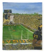 Ohio State Vs. Michigan 100th Game Fleece Blanket