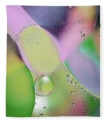 Oil 3 Fleece Blanket