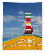 Okay In Thailand Fleece Blanket