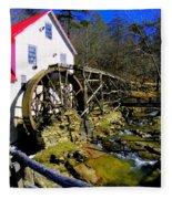 Old 1886 Mill Fleece Blanket